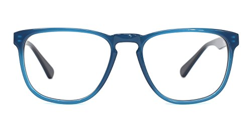 TIJN Classic Square Keyhole Acetate Eyeglasses - Eyeglasses Acetate