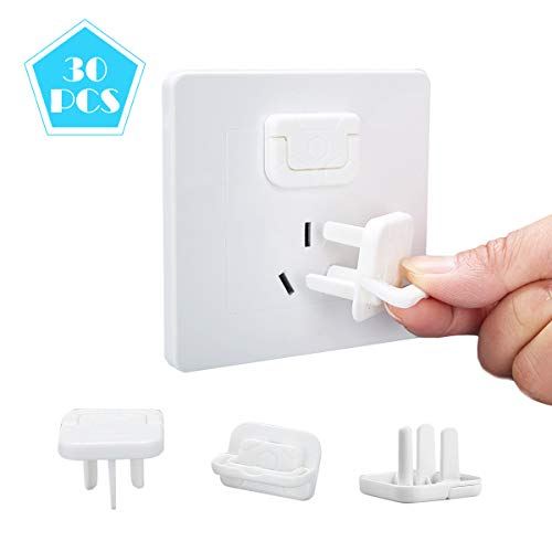Outlet Plug Covers Baby Proofing, Safety Child-Proof Plug Protector, Baby Safety Kit with Corner Guards, Keep Safe Prevent Baby from Shock (30Pcs)