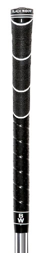 Black Widow Hybrid Round Golf Grip, Black