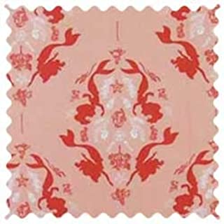product image for SheetWorld 100% Cotton Percale Fabric by The Yard, Little Mermaid Damask, 36 x 44