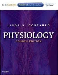 Book Physiology: with STUDENT CONSULT Online Access (Costanzo Physiology) 4th (forth) edition