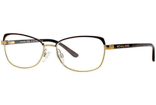 Michael Kors MK 7005 1049 Eyeglasses Chocolate/Gold