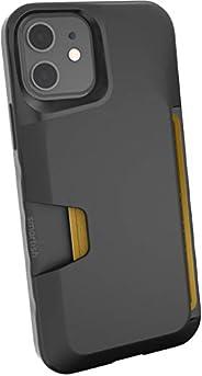 Smartish iPhone 12/12 Pro Wallet Case - Wallet Slayer Vol. 1 [Slim + Protective] Credit Card Holder (Silk) - B