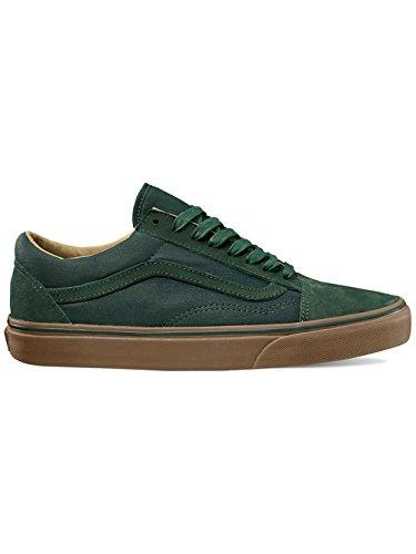 Vans Old Skool Reissue DX Coated Green Gables verde marrón
