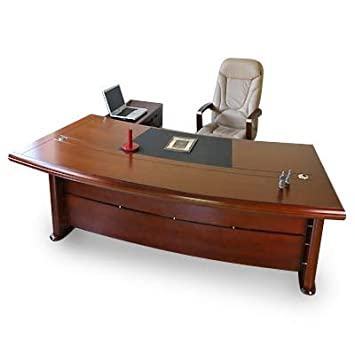 Chef Schreibtisch Büromöbel Bueroausstattung Büro Echtholz ...