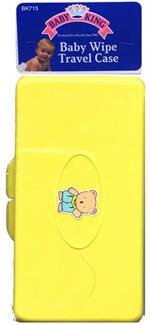 Baby King Wipes Travel Case Color May Very BK-715