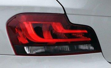BMW E82 E88 1 Series European Black Line Taillights Non-Xenon Type 2012+