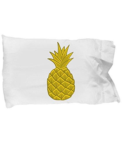 CustUmmMerch Pineapple Pillow Case | Gold Pineapple Hawaii Gift by CustUmmMerch