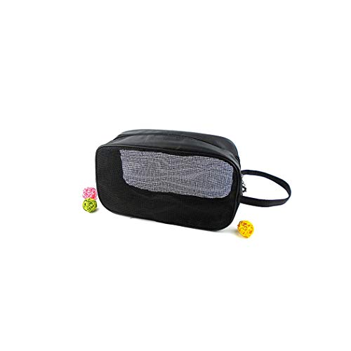 London Quilted Handbag - Sheep Brand Transparent Mesh Cosmetic Bag Men And Women Bath Pocket Swimming Fitness Breathable Organizer Travel Makeup Bags,M