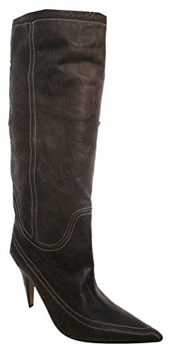 Pull Boots Raised Milk KAREN Leather Stitch Chocolate Stunning All MILLEN On Brown 4PTzpfw1q