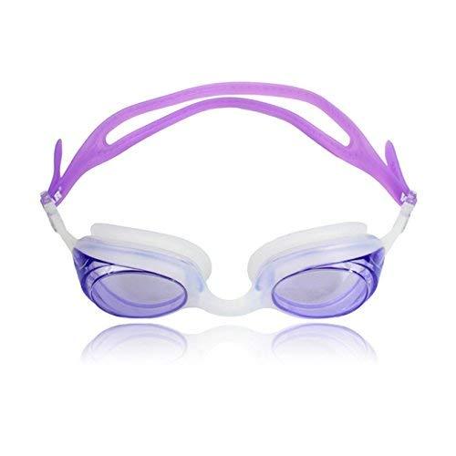 (Water Gear Cuda Swim Goggles (Purple))