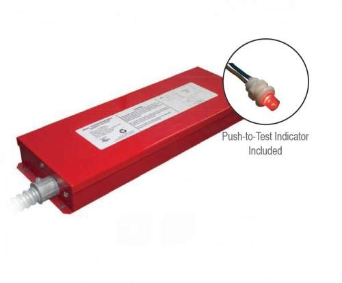 Constant Power LED Emergency Driver Ballasts, with Output 180-320VDC For LED Lamp Loadsup To 20 W