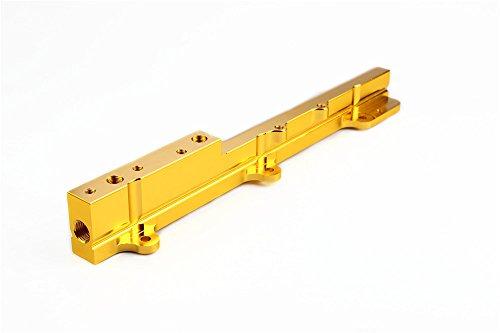 B16 Fuel Rail (FUEL RAIL 88-01 HONDA/ACURA CIVIC INTEGRA B16 B18 B20 B16A B17 B20B B17A Color Gold)