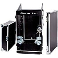 DEEJAY LED Fly Drive Case For Slant Rack Or Similarly Sized Equipment W/wheels