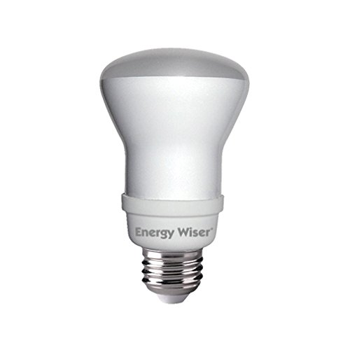 Bulbrite CF11R20WW/E 14-watt Energy Efficient Compact Fluorescent R20 Reflector, Medium Base, Warm White, 50W Equivalent ()