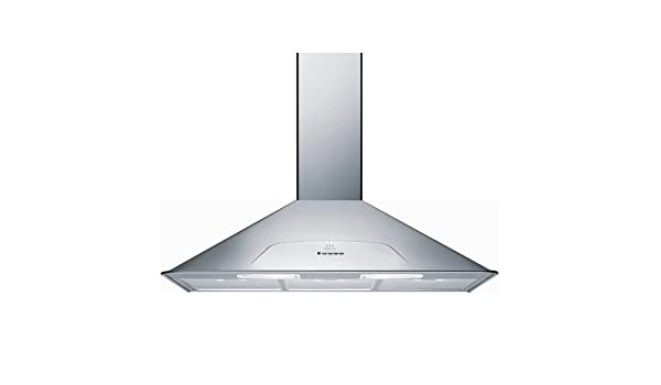 Indesit H 592 IX 600 m³/h De pared Acero inoxidable - Campana (600 m³/h, Canalizado/Recirculación, 63 dB, De pared, Acero inoxidable, 20 W): Amazon.es: Hogar