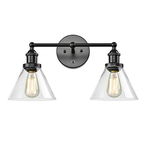 JYB SHOPS Mirror Light Lighting Wall Lamp Sconces Fixtures Retro Iron for - Bathroom Fixtures Light For Lowes Mirrors
