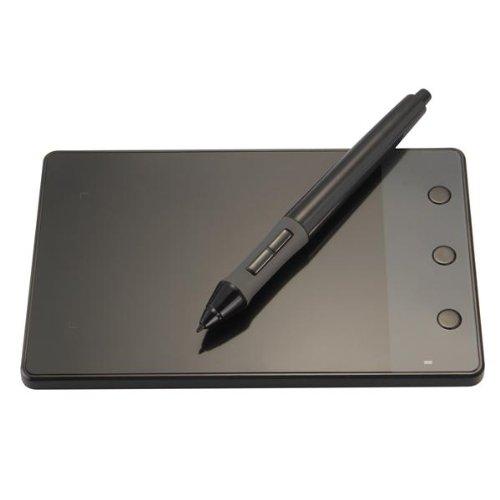 HUION® Profi H420 Grafiktablett Zeichentablett Multimedia Stifttablett für Schreiben und Malen