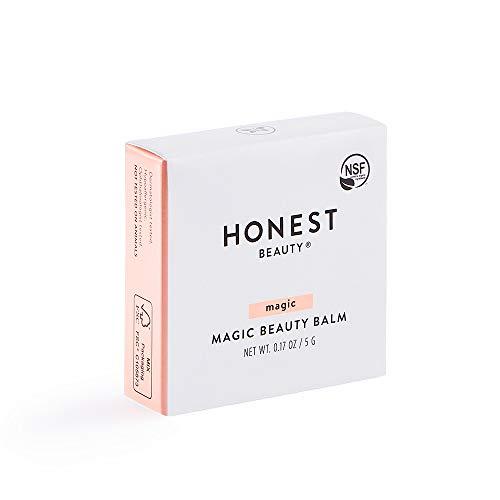 Honest Beauty Magic Beauty Balm with Fruit & Seed Oils   Multi-Purpose Beauty Balm   Paraben Free, Dermatologist Tested, Cruelty Free   0.17 oz
