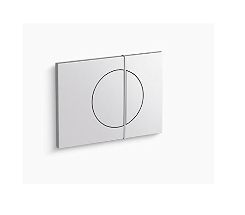 Kohler 75891-0 Note Flush Actuator Plate for 2''x 4'' in-Wall Tank and Carrier System White