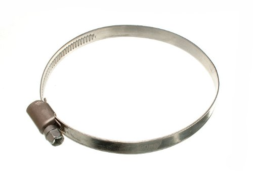 HOSE CLAMP JUBILEE CLIP 70MM - 90MM SS STAINLESS STEEL ( pack of 24 ) by ONESTOPDIY