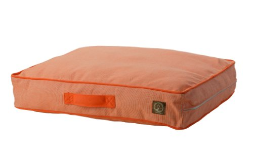 One for Pets Siesta Indoor/Outdoor Pet Bed Dog Bed Duvet Cover, Medium, Orange by One for Pets