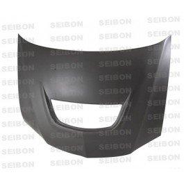 Seibon 2003-2007 MITSUBISHI LANCER EVO VIII / IX OEM-DRY Carbon Fiber Hood (HD0305MITEVO8-OE-DRY )