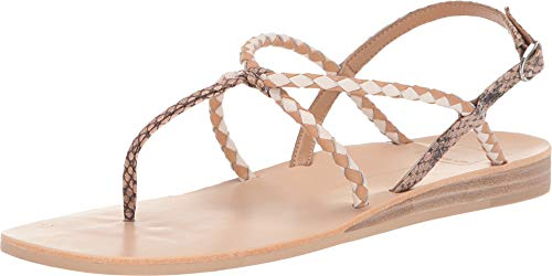 Dolce Vita Women's Cree Brown Snake Embossed Leather 11 M US