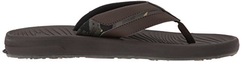Oasis Quiksilver Mens Brown Brown Sandal Brown Mens Quiksilver Travel wI1ndRFqAq