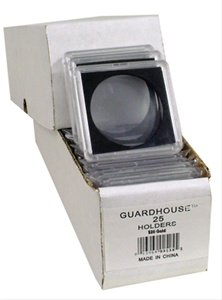 2×2 Coin Holder Guardhouse Tetra Snaplock for Double Gold Eagles ($20), box of 25