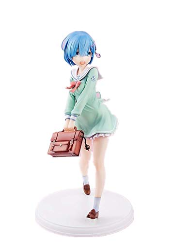 Anime Re : Life in A Different World from Zero Rem Uniform Ver. PVC Figure Collectible Toy 23cm