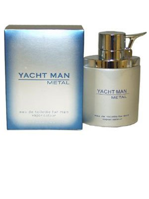 MEN by Myrurgia - 3.4 oz EDT Spray (Yacht Man Metal)