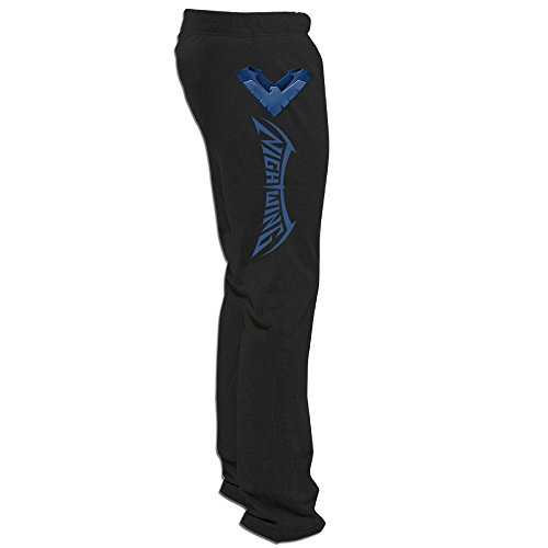 Wings Italia (DHome Men's Training Pants Night Wing Logo Black 3X)