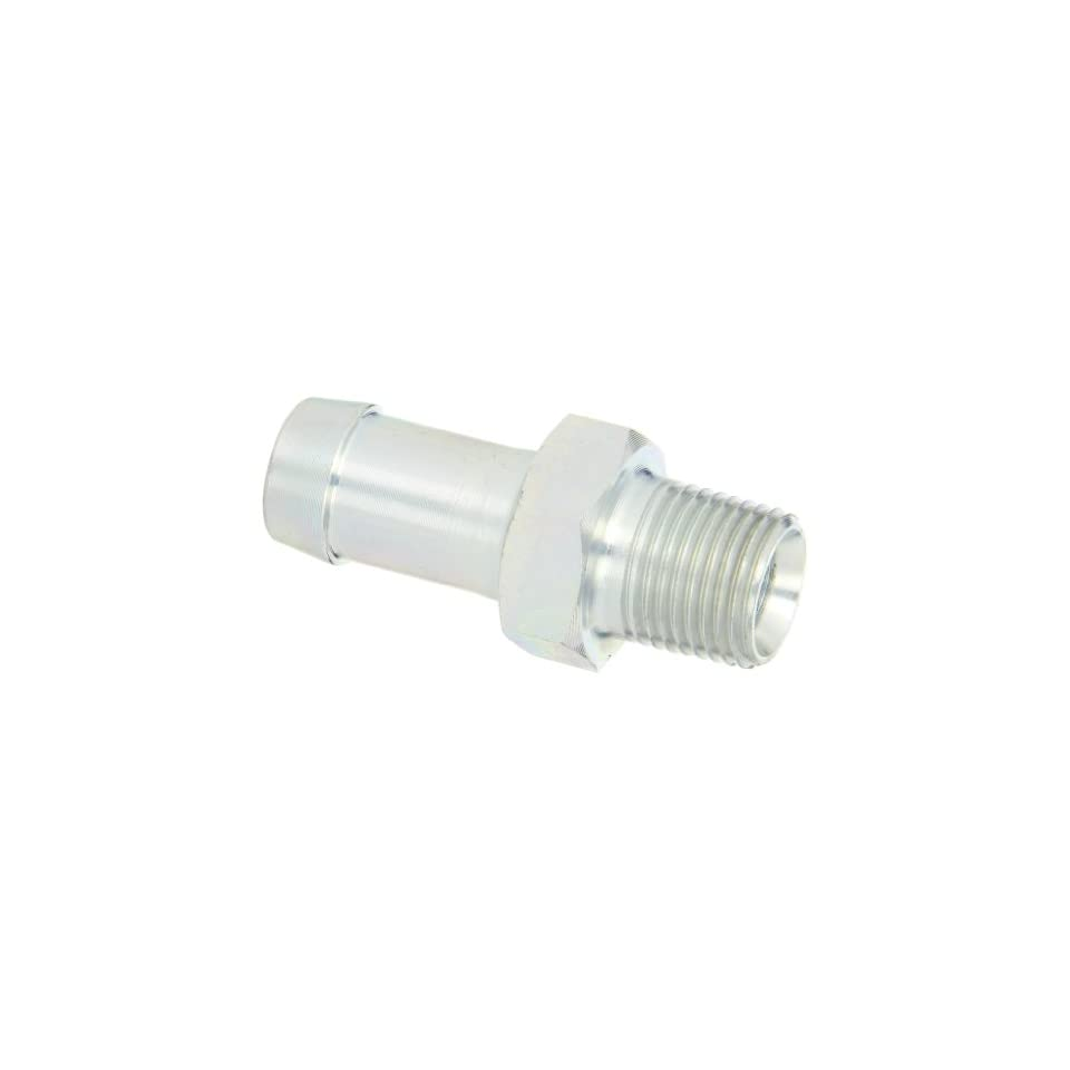 Dixon Valve KHN641 King Plated Steel Shank/Water Fitting for One Clamp, Hex Nipple, 1/2 NPT Male x 3/4 Hose ID Barbed