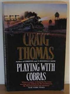 Image result for craig thomas playing with cobras amazon