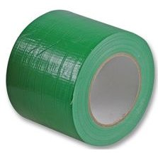 Gaffa Gaffer Tape Cloth Waterproof 100mm x 50m Green Cable-Tex