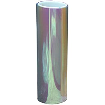 Aumo-mate 12x48 Inches Transparent Shiny Chameleon Auto Car Headlight HeadLamp Taillights Translucent Film Lights Turned Change Color Fog Lights Tint Vinyl Wrap Film Self Adhesive Sticker Sheet Decals