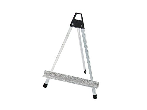 Testrite Visual 145S Economical Table Easel, 5.5 oz., Aluminum, Silver