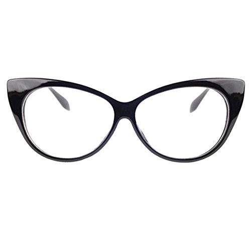 Plastique Cat monture classique de show Uni Plastique sexy Femme As œil Black Forme vintage Violet Black eye the lunettes Dexinghaoye Eyewear description WvFf0wxn