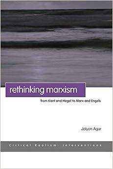 Amazoncom Rethinking Marxism Critical Realism