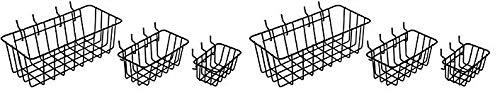 Dorman Hardware 4-9845 Peggable Wire Basket Set, 3-Pack (2-(Pack))