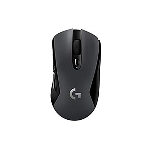Logitech G603 Lightspeed Wireless Gaming Mouse - Optical - Wireless - Bluetooth/Radio Frequency - Black - USB - 12000 dpi - Scroll Wheel - 6 Button(s) - Right-Handed Only (Certified Refurbished) (Frequency Radio Pc Wireless Usb)
