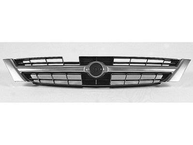 GRILLE Fits Nissan Maxima BLACK/GRAY [UNPAINTED]. (WITHOUT MFR MANUFACTURER EMBLEMS / LOGOS. THEY ARE TRADEMARK PROTECTED.) (97 Nissan Maxima Emblem compare prices)