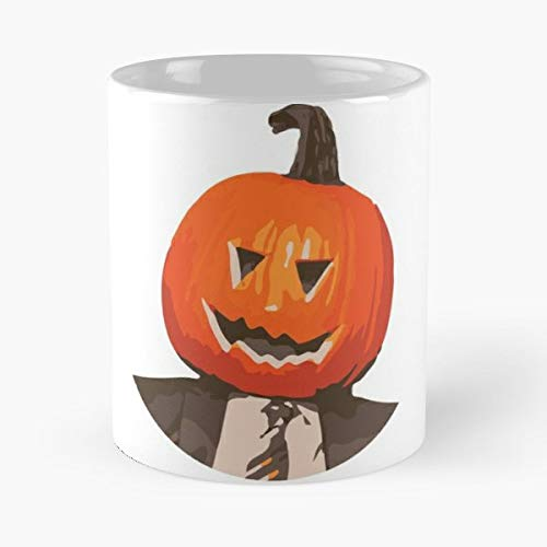 Dwight Schrute Halloween The Office - Funny Gifts For Men And Women Gift Coffee Mug Tea Cup White 11 Oz.the Best Holidays.]()