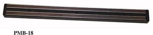 Black Winco PMB-13 Magnetic Bar with Plastic Base 13-Inch