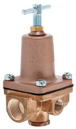 Pressure Regulator, 1/2 In, 3 to 50 psi by Watts (Image #1)