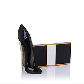 Perfumes para mujer - 2 tipos 30ml Lady zapatos de tacón alto Perfume floral Perfume Perfume de larga duración (Color : Black)