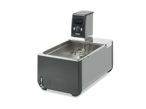 Grant Instruments - Grant Instruments T100-ST18 US General Purpose Optima Heated Circulating Bath With Stainless Steel Tank, 18L, 120V, Ambient +5 to 100 Degrees Celsius