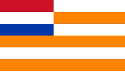 magFlags Large Flag Orange Free State | landscape flag | 1.3