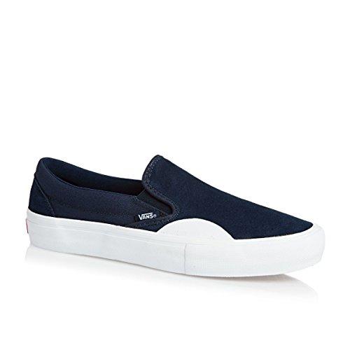 Vans Skate Shoe Men Slip-On Pro Skate Shoes Blue LxYsW5X